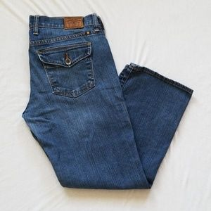 Lucky Brand Blue Jeans Sweet'n Crop 8/29